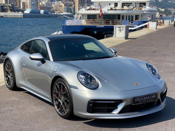 Porsche 911 TYPE 992 CARRERA 4S 450 CV PDK - MONACO Argent GT Métal - 3