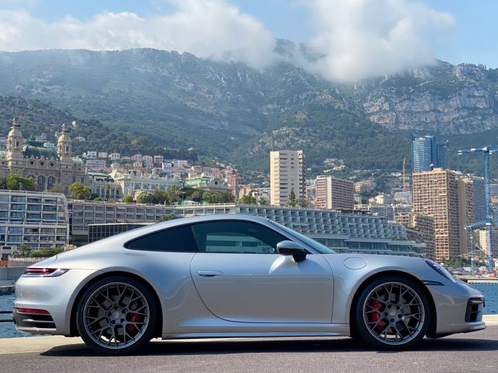 Porsche 911 TYPE 992 CARRERA 4S 450 CV PDK - MONACO Argent GT Métal - 4