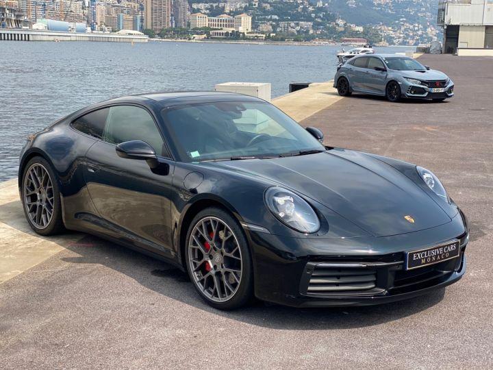 Porsche 911 TYPE 992 CARRERA 4S 450 CV PDK - MONACO Noir  - 3