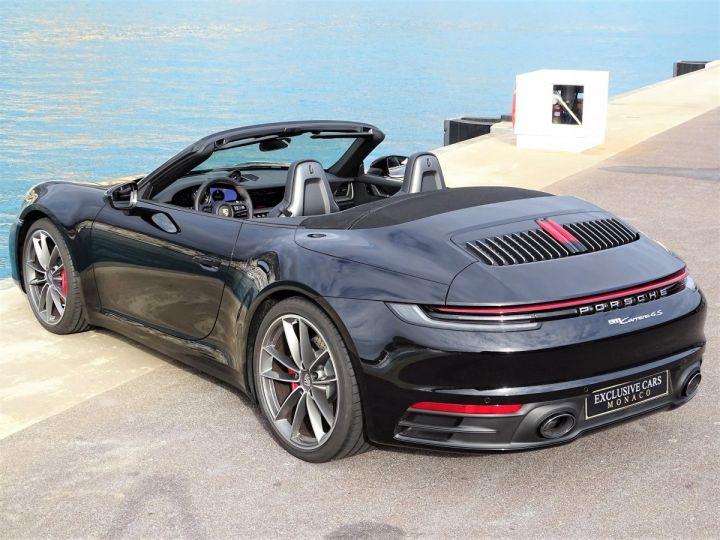 Porsche 911 TYPE 992 CARRERA 4S CABRIOLET PDK 450 CV NEUF !! - MONACO Noir - 7