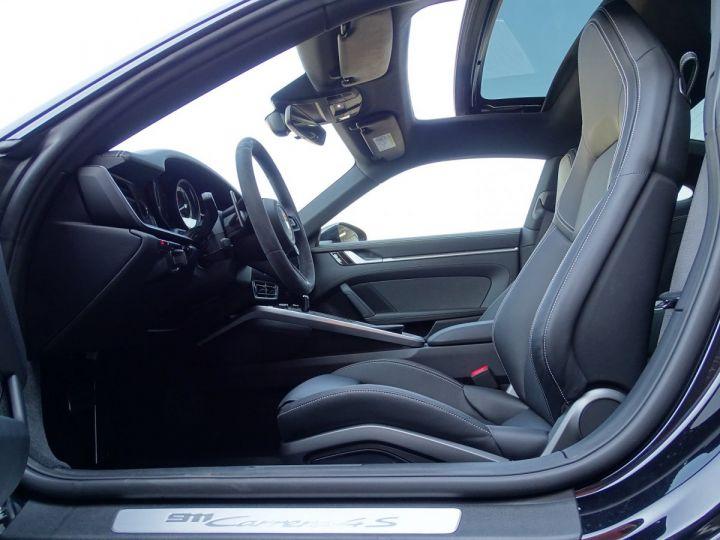 Porsche 911 TYPE 992 CARRERA 4S PDK 450 CV - MONACO Noir Métal  - 6