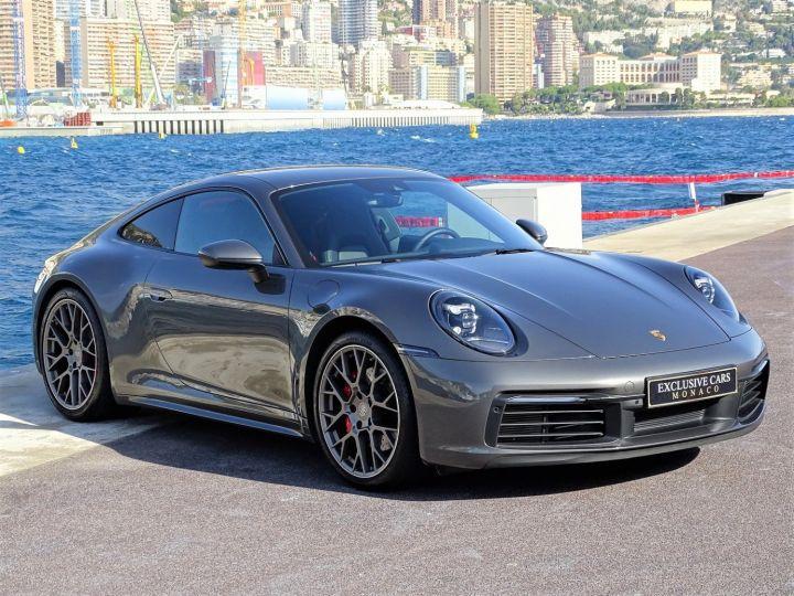 Porsche 911 TYPE 992 CARRERA 4S PDK 450 CV - MONACO Gris Metal - 3