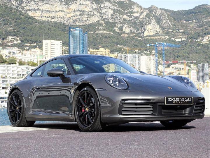 Porsche 911 TYPE 992 CARRERA 4S PDK 450 CV - MONACO Gris agatha Metal - 3