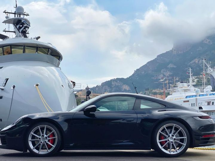 Porsche 911 TYPE 992 CARRERA 4S PDK 450 CV - MONACO Noir Metal - 4