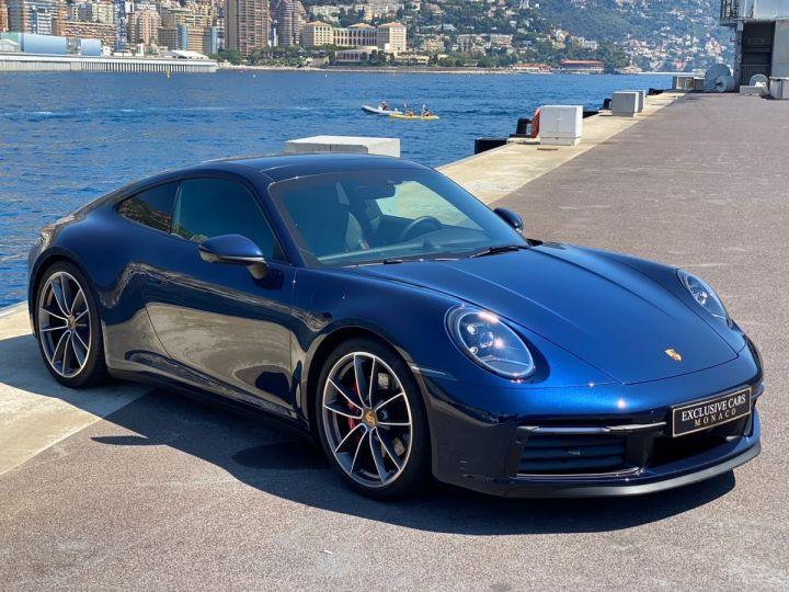 Porsche 911 TYPE 992 CARRERA 4S PDK 450 CV - MONACO Bleu Nuit Métal - 2