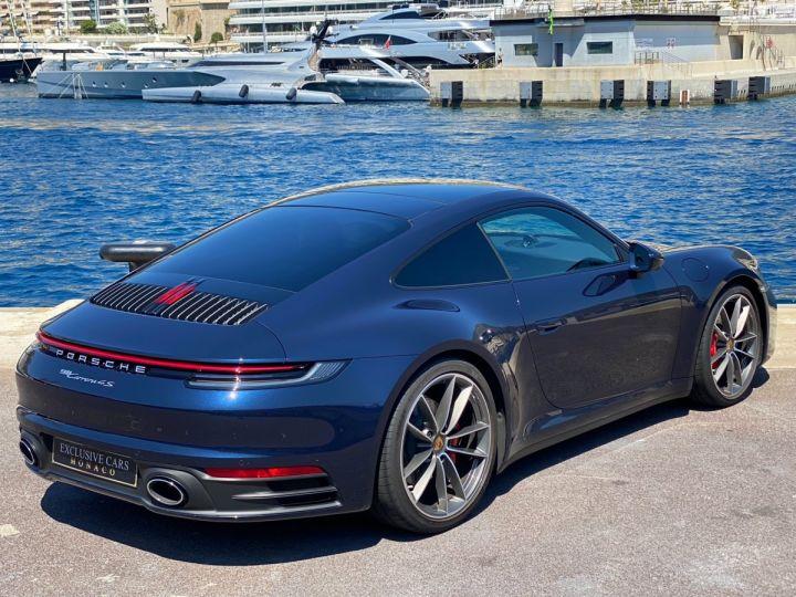 Porsche 911 TYPE 992 CARRERA 4S PDK 450 CV - MONACO Bleu Nuit Métal - 3