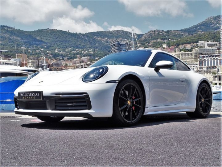 Porsche 911 TYPE 992 CARRERA S 450 CV PDK - MONACO Blanc  - 11