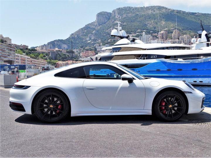 Porsche 911 TYPE 992 CARRERA S 450 CV PDK - MONACO Blanc  - 14