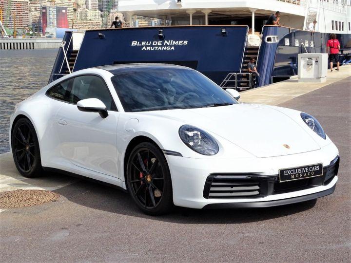 Porsche 911 TYPE 992 CARRERA S 450 CV PDK - MONACO Blanc  - 3