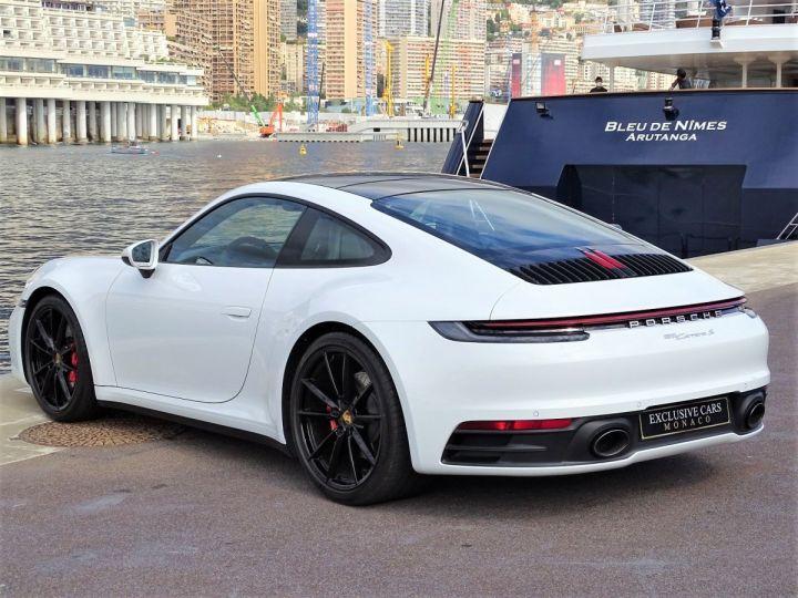 Porsche 911 TYPE 992 CARRERA S 450 CV PDK - MONACO Blanc  - 7