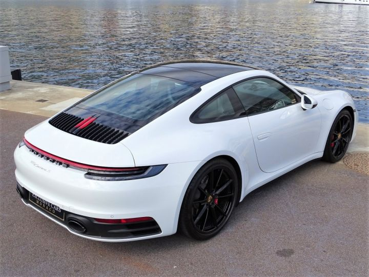 Porsche 911 TYPE 992 CARRERA S 450 CV PDK - MONACO Blanc  - 16