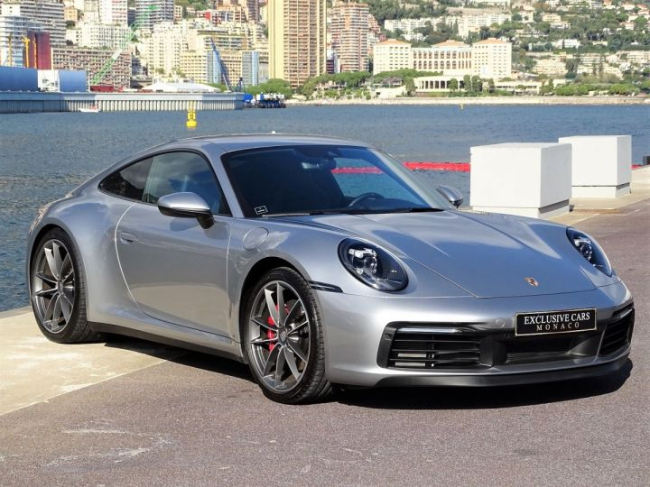 Porsche 911 TYPE 992 CARRERA S 450 CV PDK - MONACO Argent GT Métal - 3