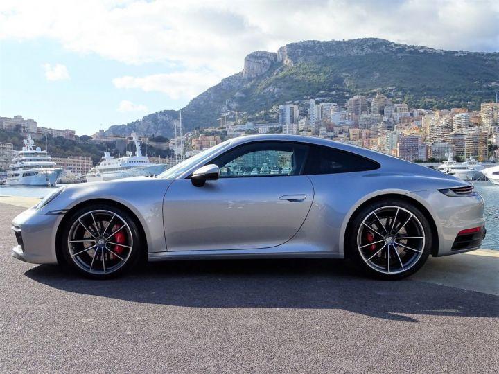 Porsche 911 TYPE 992 CARRERA S 450 CV PDK - MONACO Argent GT Métal - 4