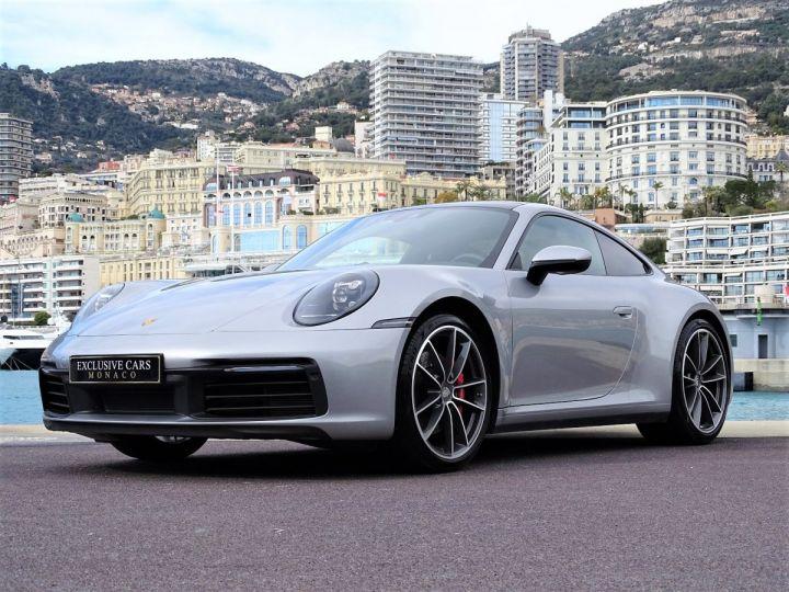 Porsche 911 TYPE 992 CARRERA S 450 CV PDK - MONACO Argent GT Métal - 11
