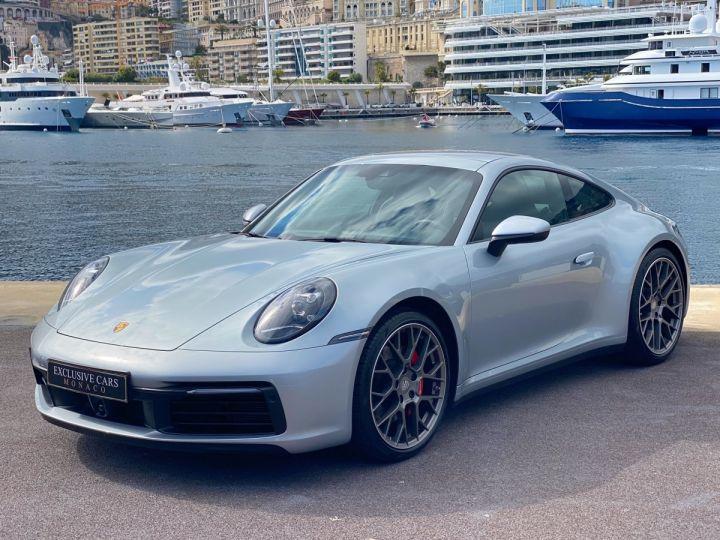 Porsche 911 TYPE 992 CARRERA S 450 CV PDK - MONACO Argent Métal - 1