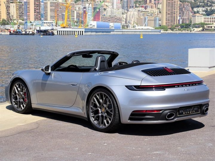 Porsche 911 TYPE 992 CARRERA S CABRIOLET 450 CV PDK - MONACO Argent Métal - 6