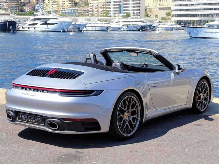 Porsche 911 TYPE 992 CARRERA S CABRIOLET 450 CV PDK - MONACO Argent Métal - 20