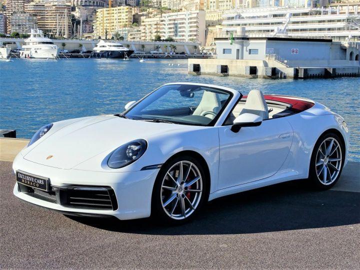 Porsche 911  TYPE 992 CARRERA S CABRIOLET PDK 450 CV Blanc - 1