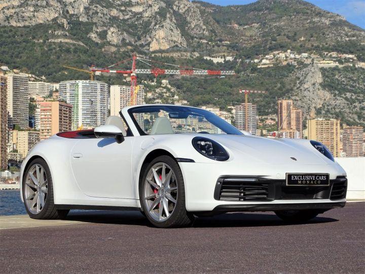 Porsche 911  TYPE 992 CARRERA S CABRIOLET PDK 450 CV Blanc - 3