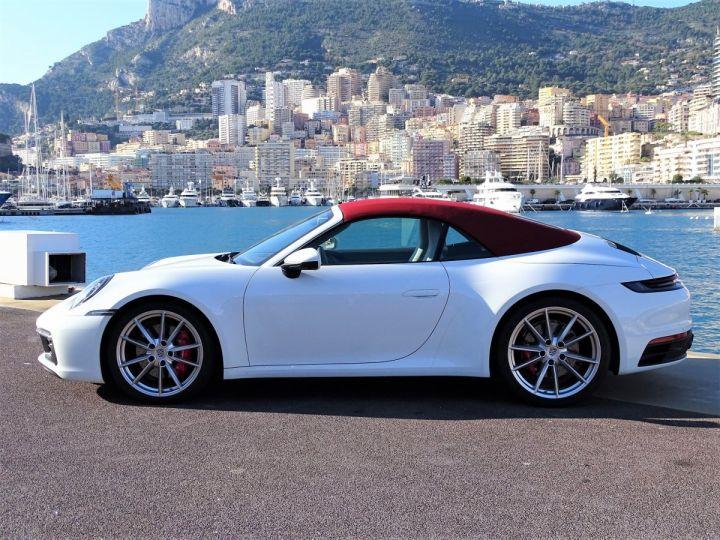 Porsche 911  TYPE 992 CARRERA S CABRIOLET PDK 450 CV Blanc - 4
