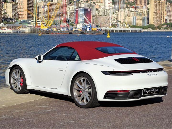 Porsche 911  TYPE 992 CARRERA S CABRIOLET PDK 450 CV Blanc - 6