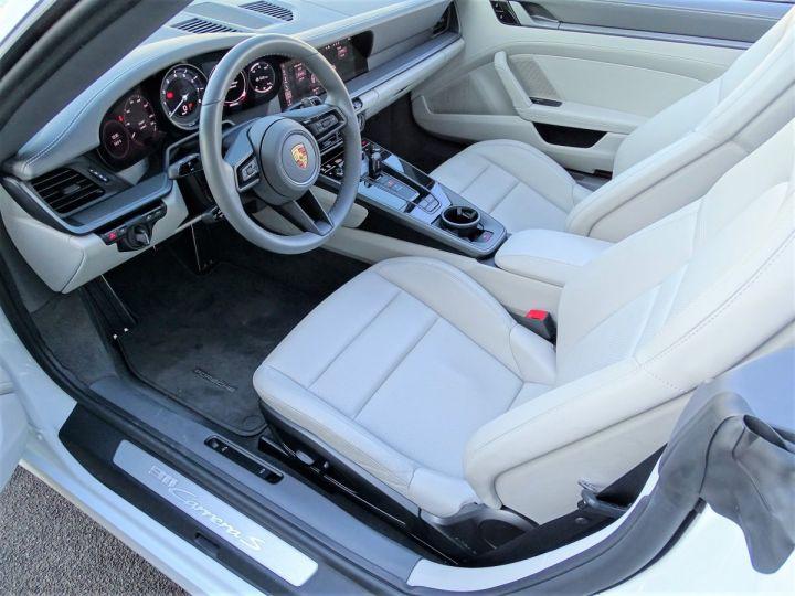Porsche 911  TYPE 992 CARRERA S CABRIOLET PDK 450 CV Blanc - 7