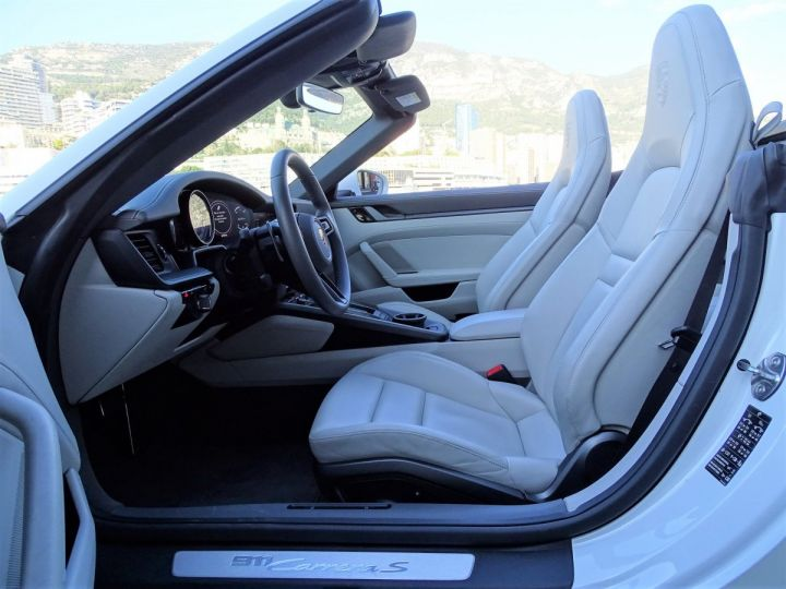 Porsche 911  TYPE 992 CARRERA S CABRIOLET PDK 450 CV Blanc - 12