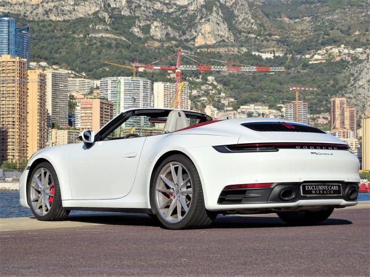 Porsche 911  TYPE 992 CARRERA S CABRIOLET PDK 450 CV Blanc - 18