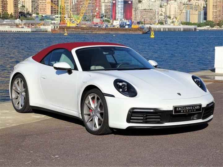 Porsche 911  TYPE 992 CARRERA S CABRIOLET PDK 450 CV Blanc - 20