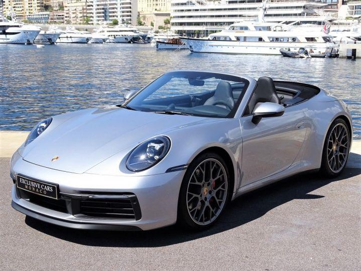 Porsche 911 TYPE 992 CARRERA S CABRIOLET PDK 450 CV - MONACO Gris Argent Métal - 1