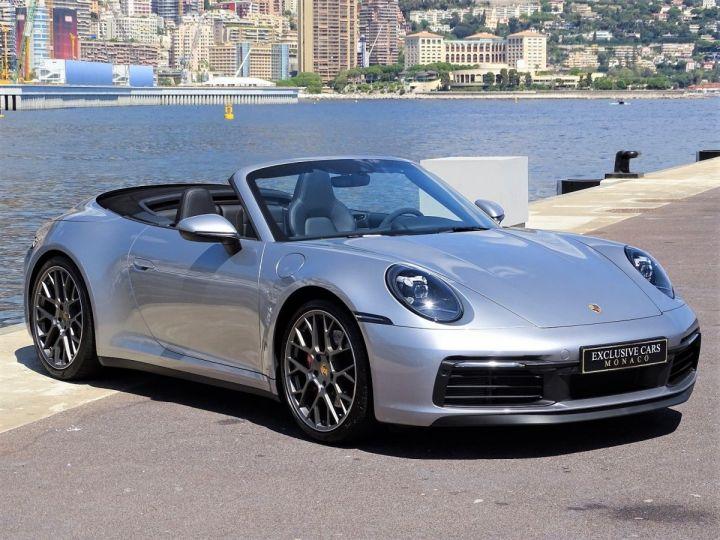 Porsche 911 TYPE 992 CARRERA S CABRIOLET PDK 450 CV - MONACO Gris Argent Métal - 3