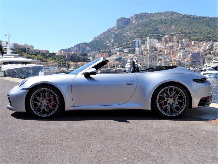 Porsche 911 TYPE 992 CARRERA S CABRIOLET PDK 450 CV - MONACO Gris Argent Métal - 4