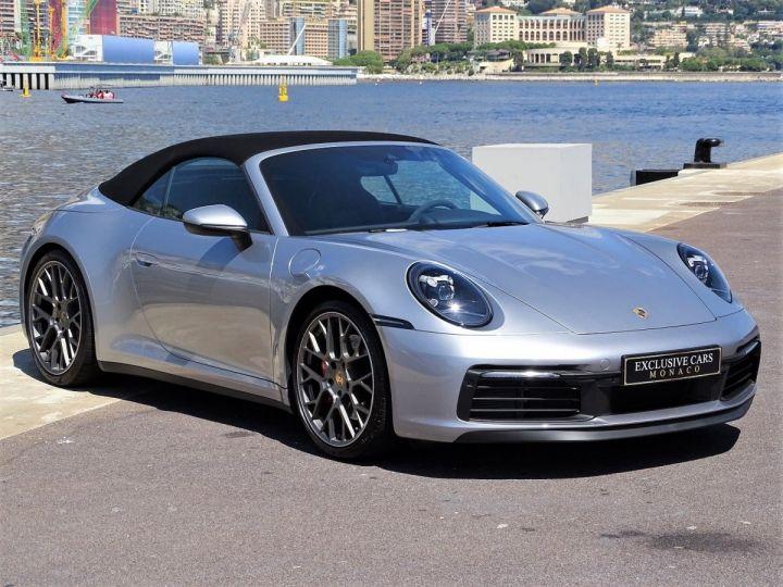 Porsche 911 TYPE 992 CARRERA S CABRIOLET PDK 450 CV - MONACO Gris Argent Métal - 5
