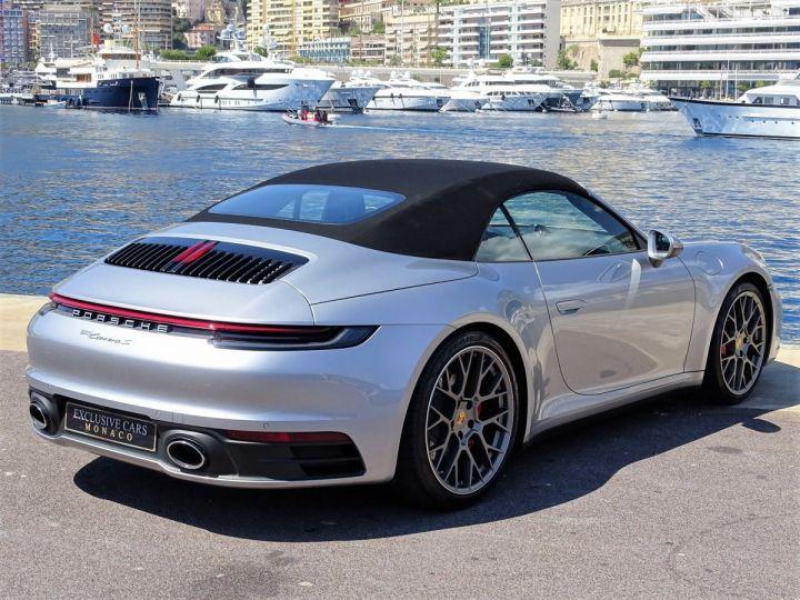 Porsche 911 TYPE 992 CARRERA S CABRIOLET PDK 450 CV - MONACO Gris Argent Métal - 7