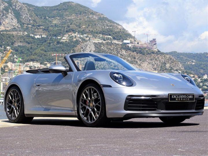 Porsche 911 TYPE 992 CARRERA S CABRIOLET PDK 450 CV - MONACO Gris Argent Métal - 14
