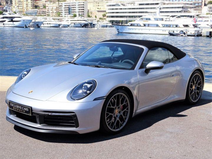 Porsche 911 TYPE 992 CARRERA S CABRIOLET PDK 450 CV - MONACO Gris Argent Métal - 15