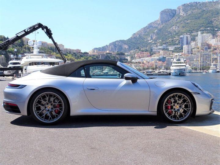 Porsche 911 TYPE 992 CARRERA S CABRIOLET PDK 450 CV - MONACO Gris Argent Métal - 16