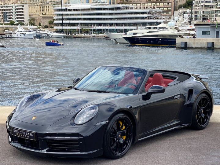 Porsche 911 TYPE 992 TURBO S CABRIOLET PDK 650 CV - MONACO Noir Metal - 1