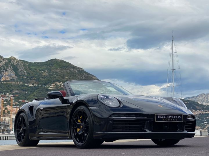 Porsche 911 TYPE 992 TURBO S CABRIOLET PDK 650 CV - MONACO Noir Metal - 14