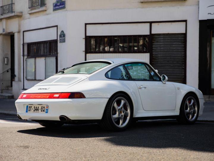 Porsche 911 TYPE 993 (993) 3.6 CARRERA S TIPTRONIC Blanc Metal - 7