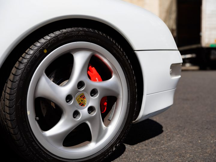 Porsche 911 TYPE 993 (993) 3.6 CARRERA S TIPTRONIC Blanc Metal - 11