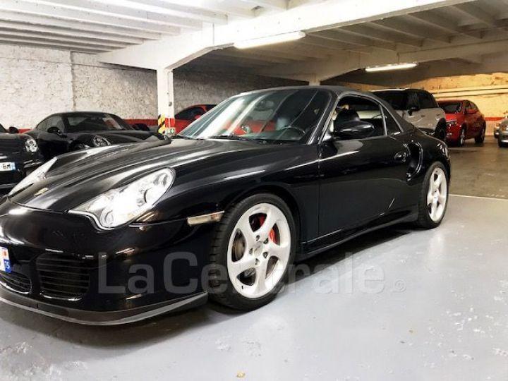 Porsche 911 TYPE 996 CABRIOLET (996) (2) CABRIOLET 3.6 TURBO BVA Noir Metal - 1