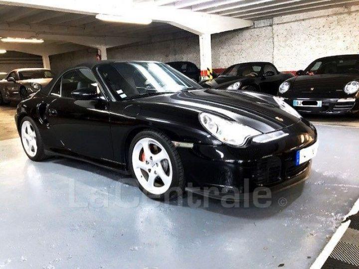 Porsche 911 TYPE 996 CABRIOLET (996) (2) CABRIOLET 3.6 TURBO BVA Noir Metal - 2