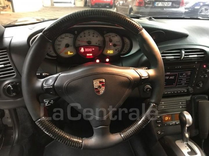 Porsche 911 TYPE 996 CABRIOLET (996) (2) CABRIOLET 3.6 TURBO BVA Noir Metal - 6