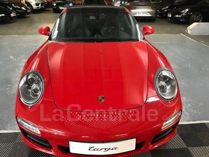 Porsche 911 TYPE 997 (997) (2) 3.8 385 TARGA 4S PDK Rouge Verni - 4