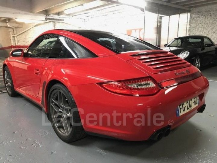 Porsche 911 TYPE 997 (997) (2) 3.8 385 TARGA 4S PDK Rouge Verni - 5
