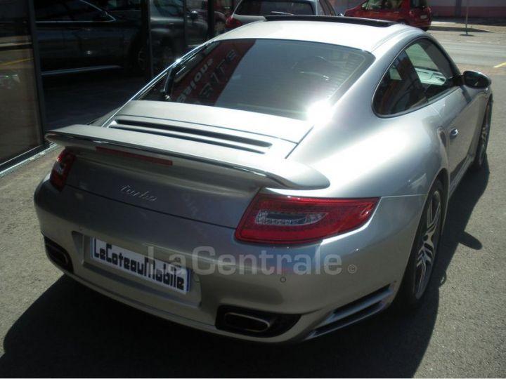 Porsche 911 TYPE 997 (997) 3.6 480 TURBO TIPTRONIC S gris clair metal - 3