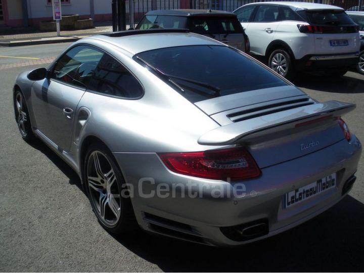 Porsche 911 TYPE 997 (997) 3.6 480 TURBO TIPTRONIC S gris clair metal - 9