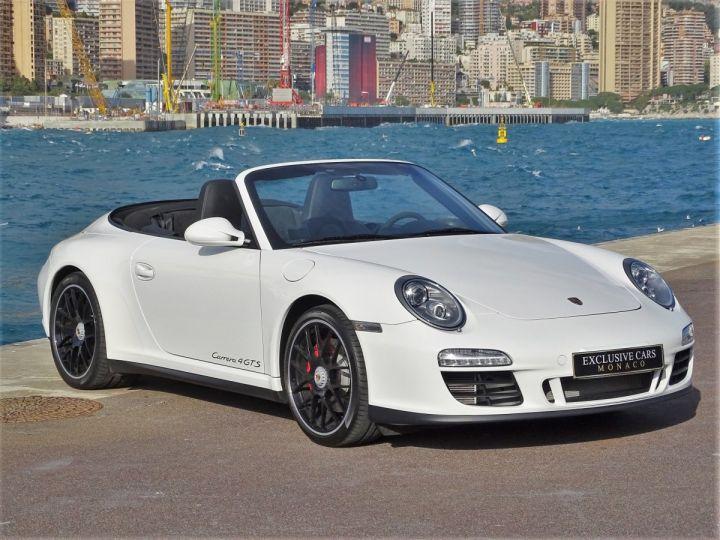 Porsche 911 TYPE 997 CARRERA 4 GTS CABRIOLET PDK 408 CV - MONACO Blanc - 2