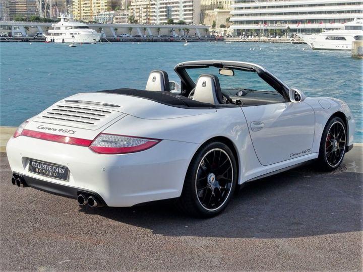 Porsche 911 TYPE 997 CARRERA 4 GTS CABRIOLET PDK 408 CV - MONACO Blanc - 3